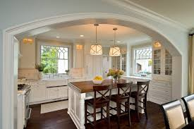 home interior arch designs archway designs kitchen traditional with x back barstools