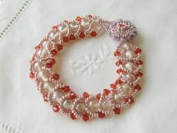 glass beads bracelet images Swarovski crystal bracelet glass bead by charmingcharms on zibbet jpg