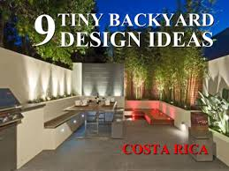 Townhouse Backyard Ideas 9 Ways To Turn A Tiny Costa Rican Townhouse Backyard Into An Oasis