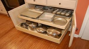 Kitchen Cabinets With Drawers That Roll Out by Shop Pull Out Trash Cans At Lowes Inside Elegant Pull Out Drawers