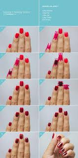 cartoon heart nail art design tutorial 20 fabulous and easy diy christmas nail art design tutorials