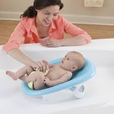 Bathing A Baby In A Bathtub Comfy Cushy Bath Cradle