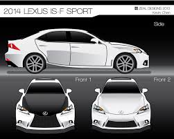 lexus sport vector concepts of the lexus is f sport by chilledtoperfection on