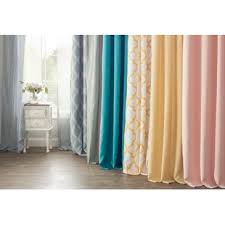 Curtains With Tabs Tab Top Curtains Drapes You Ll Wayfair