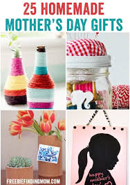 homemade mothers day gifts 25 homemade mother s day gifts