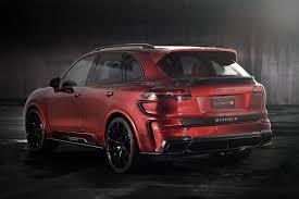 Porsche Cayenne Red Interior - porsche cayenne turbo individualized mansory style