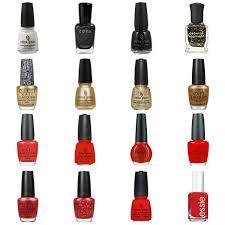red u0026 gold nail polish shades u0026 color combinations san francisco