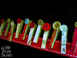 christmas card garland tutorial make and takes