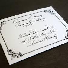 regency wedding invitations regency wedding invitation suite with formal monogram ornate