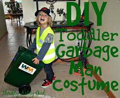 take out the trash diy toddler sized wheeled trash can and