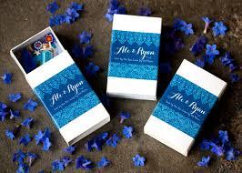 Blue Favors by Diy Matchbox Shrine Favors Weddings Ideas From Evermine
