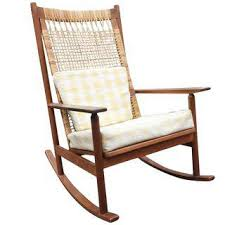 Rocking Chair Vintage Used Mid Century Modern Rocking Chairs Chairish