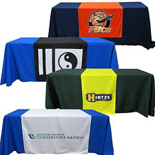 6ft Imprinted Table Cover Custom Amazon Com Customized Table Runners 2 U0027 X 5 67 U0027 Free Design With