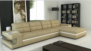 L Shaped Sofa With Chaise Lounge L Shape Sofa Set Designs Sectional Sofa With Genuine Leather In