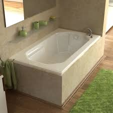 designs chic drop in tub shower combination 136 cool bathtub