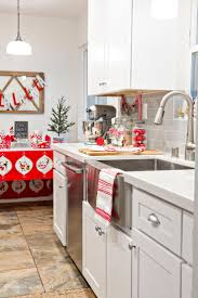 christmas kitchen ideas 124 best christmas kitchens images on pinterest christmas