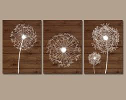 dandelion wall art gray bedroom pictures canvas or prints
