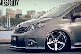 stance toyota toyota sienna auto customs bagged air ride suspension stance