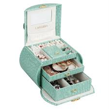 Amazon Com Langria Living Storage by Amazon Com Langria Lockable Jewelry Boxes For Women Small Jewelry