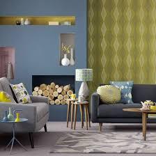 Gray Blue Living Room Best 25 Living Room Wallpaper Ideas On Pinterest Modern Living