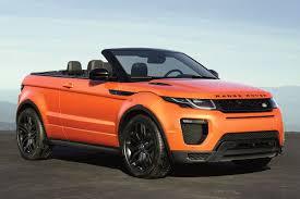 land rover daktari en de range rover evoque convertible kost autonieuws