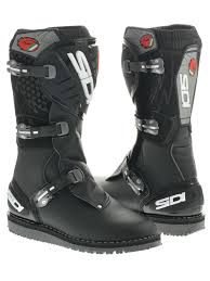 mx riding boots sidi black zero mx trial boots sidi freestylextreme united