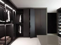 furniture terrific long modern walk in closet design with glass