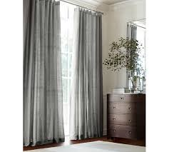 Shower Curtain With Pockets Dupioni Silk Pole Pocket Drape Pottery Barn