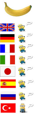 Different Languages Meme - banana in different languages funny pinterest language