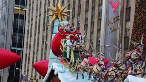 santa claus macy s thanksgiving day parade 2013