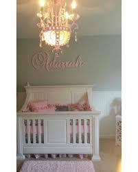 Personalized Nursery Decor New Savings On Custom Glittered Nursery Letters Baby Nursery