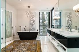 Contemporary Bathroom by 15 Fragrant Contemporary Bathrooms That Celebrate The Style