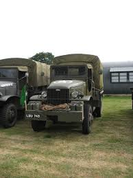 1942 gmc deuce and a half with cargo trailer military vehicle