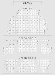 National Theatre Floor Plan by Upper Circle Playhouse Theatre Seating Plan London Seatplan