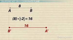 dilation in math definition u0026 meaning video u0026 lesson transcript