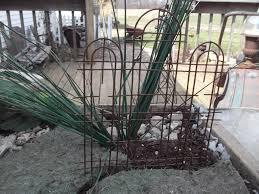 mini metal trellis miniature fairy gardening