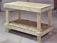 Woodworking Plans For Free Workbench by 17 Diy Workbench Plans That Are All Free Workbench Plans Diy