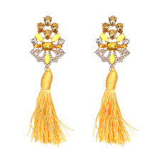 earrings brand bohemian earring tassels and brand for the current woman