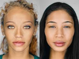 understanding the relation between face shape and hairstyle visualizing race identity and change u2013 proof