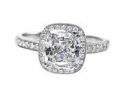 Platinum Wedding Rings by Platinum Diamond Engagement Ring With 1 76ct G Vs2 Cushion Cut