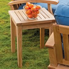 Teak Outdoor Table Outdoor Lounge Seating Set 3 Piece Set Veranda Collection