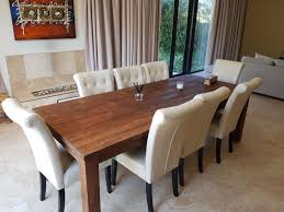 8 chair dining table dining room table with 8 chairs cs bay gumtree classifieds