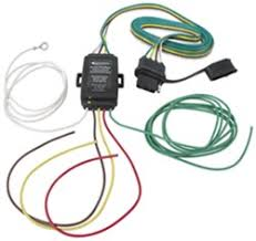 connecting a 5 pin trailer wiring harness for motorcycle to a