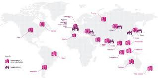 Strategic Group Map World Coverage Comexposium