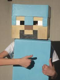 Minecraft Costume Little House In Colorado Minecraft Halloween Costume