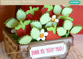 How To Put A Box Together Strawberry Carton Box Card Assembly Tutorial With Tya Lori Whitlock