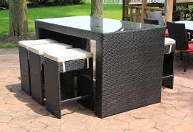 Outdoor Bar Patio Furniture Patio Bar Table Set Sosfund
