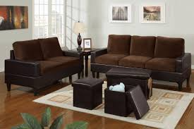 faux leather living room furniture