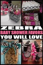 zebra baby shower baby shower favors