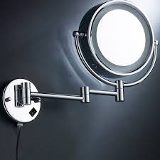makeup mirror 10x magnification with light 8 5 cosmetic make up shaving led lighted bathroom mirror 10x
